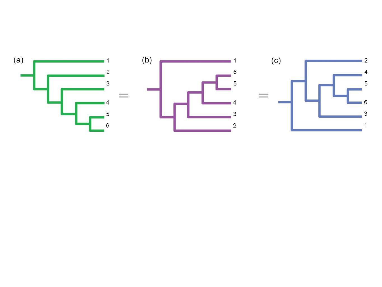 (a)(b) (c) 123123 456456 165165 432432 245245 631631 =