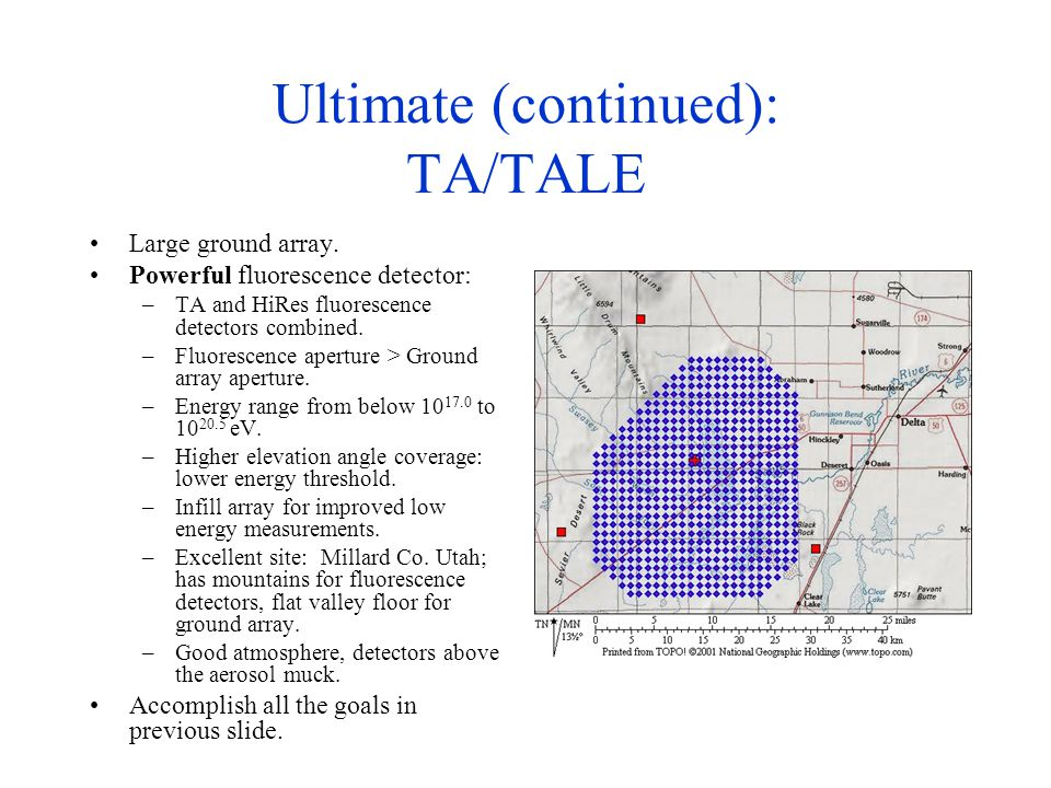 Ultimate (continued): TA/TALE Large ground array.