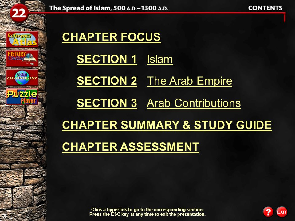 63 History Online Explore online information about the topics introduced in this chapter.