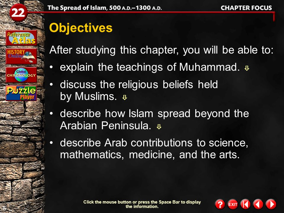 65 Muhammad is one of the great figures in world history.