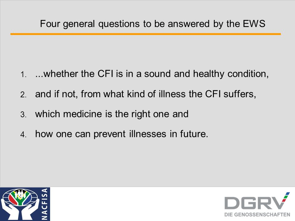 1.Functions, Features and Use of the EWS 1. The Role of EWS in Supervision 1.