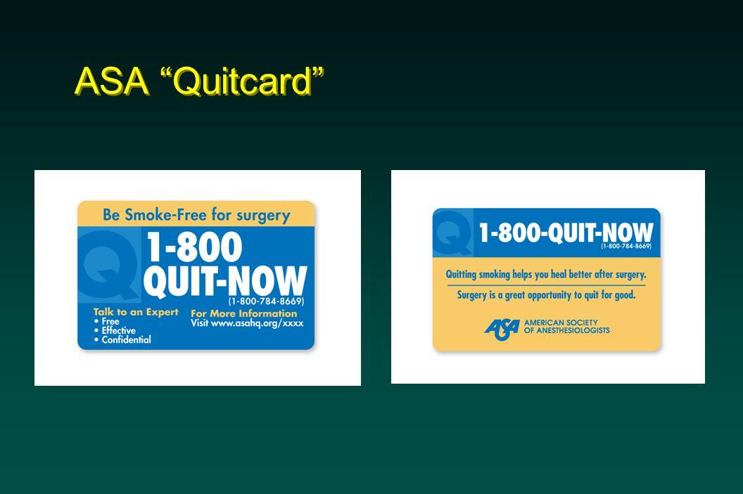 ASA Quitcard
