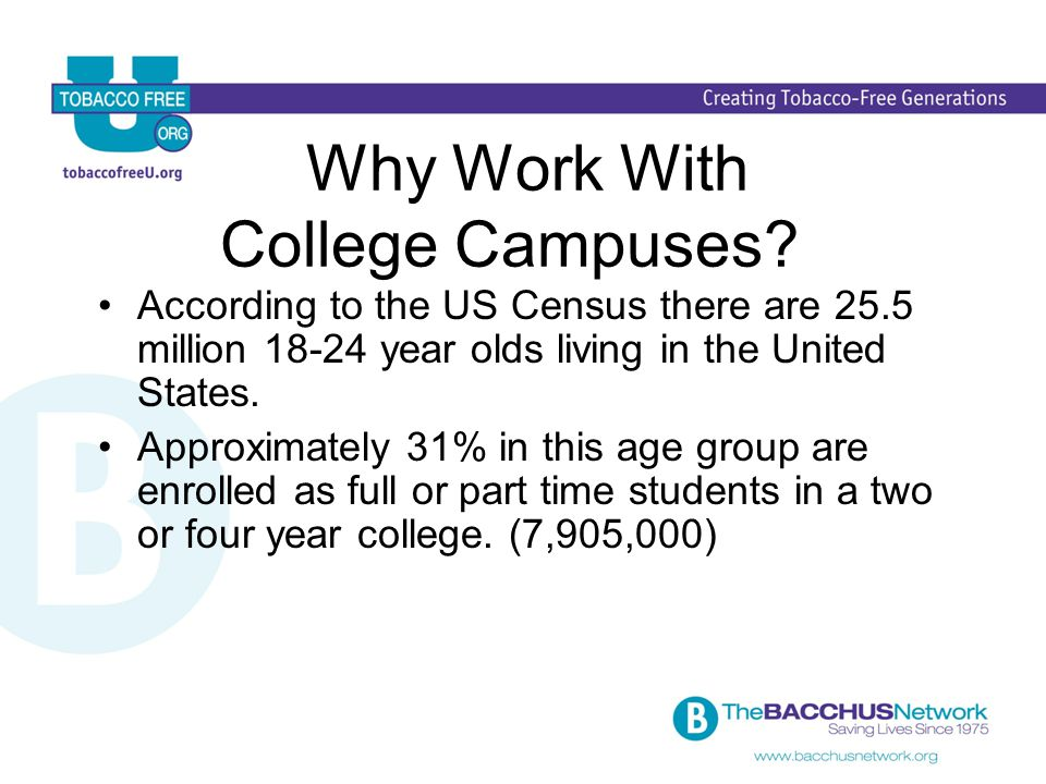 Why Work With College Campuses .
