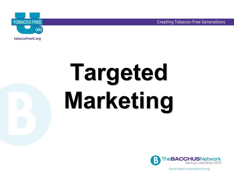 Targeted Marketing