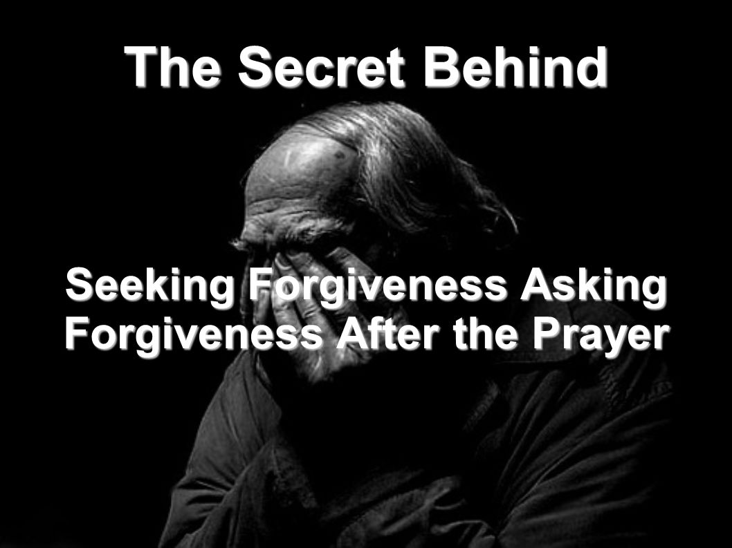 There are some who say that it is not permissible to seek forgiveness after the prayer because of the following: Allah only accept repentance from those who do evil in ignorance and then quickly seek repentance after it. [an-Nisa (4): 17]