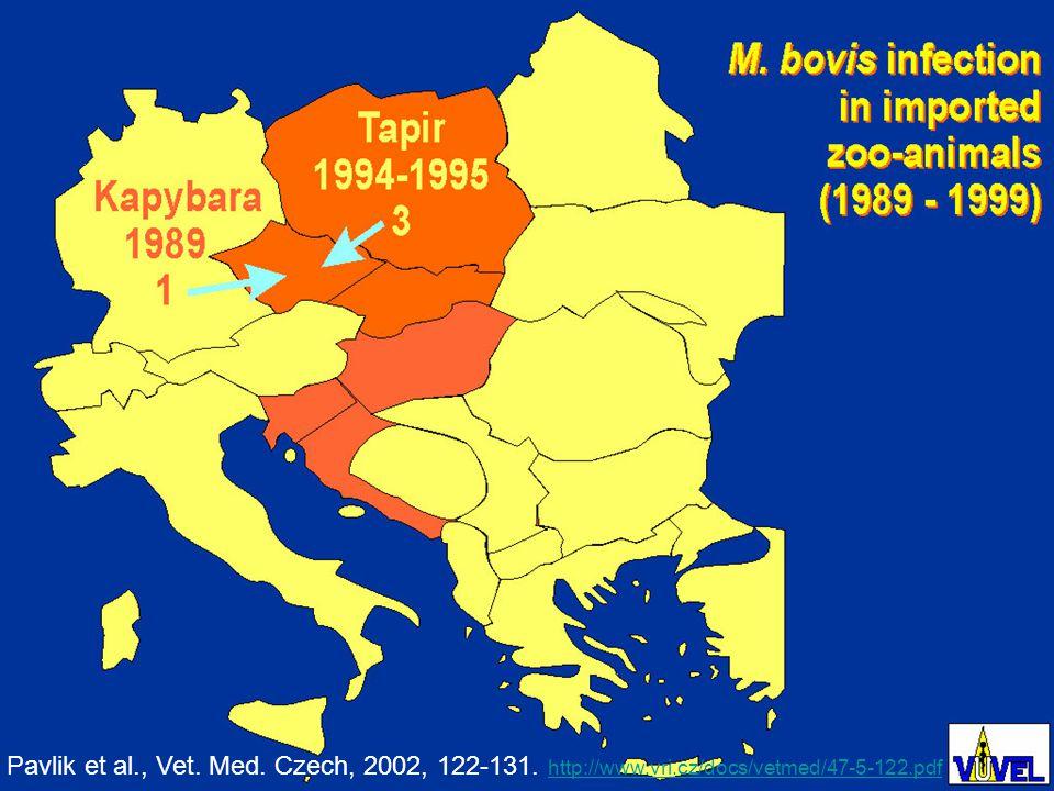Pavlik et al., Vet. Med. Czech, 2002, 122-131.