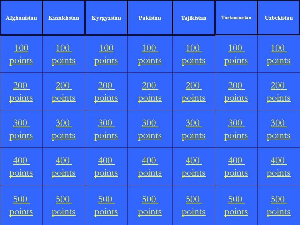 200 points 100 points 300 points 400 points 500 points 100 points 200 points 300 points 400 points 500 points 100 points 200 points 300 points 400 poi