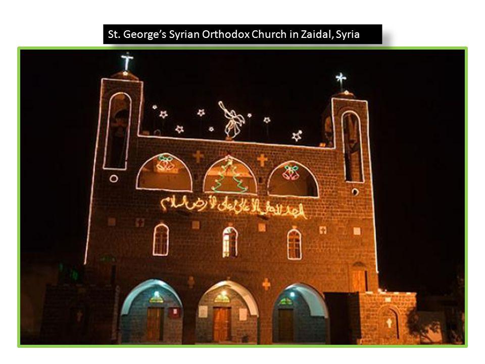 St. George's Syrian Orthodox Church in Zaidal, Syria