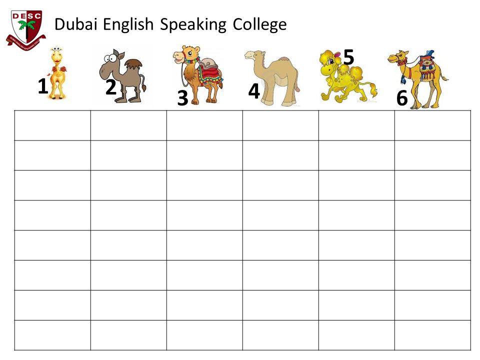 Dubai English Speaking College 1 2 3 4 5 6
