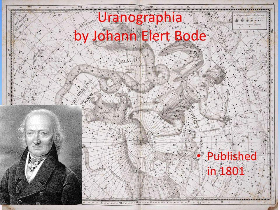 Uranographia by Johann Elert Bode Published in 1801