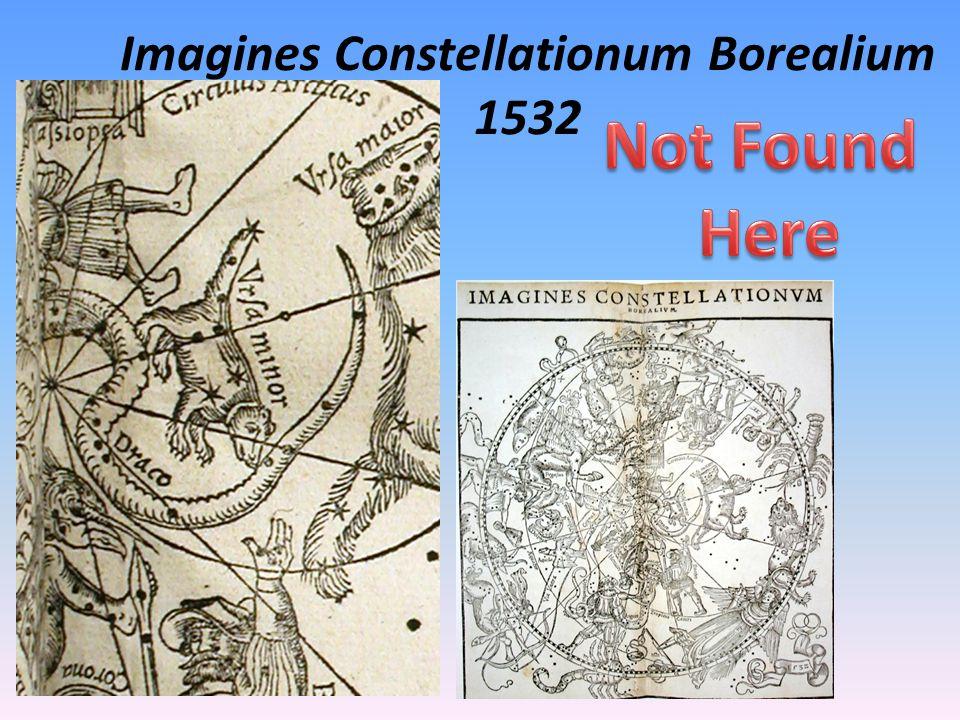 Imagines Constellationum Borealium 1532