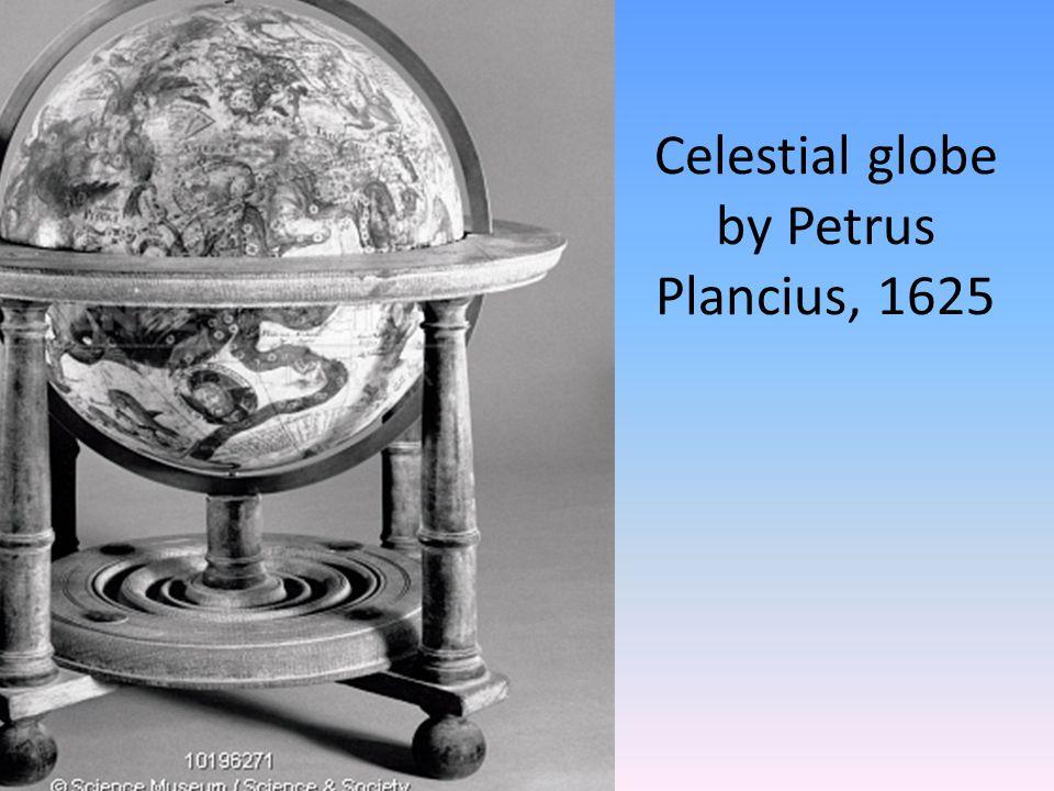 Celestial globe by Petrus Plancius, 1625