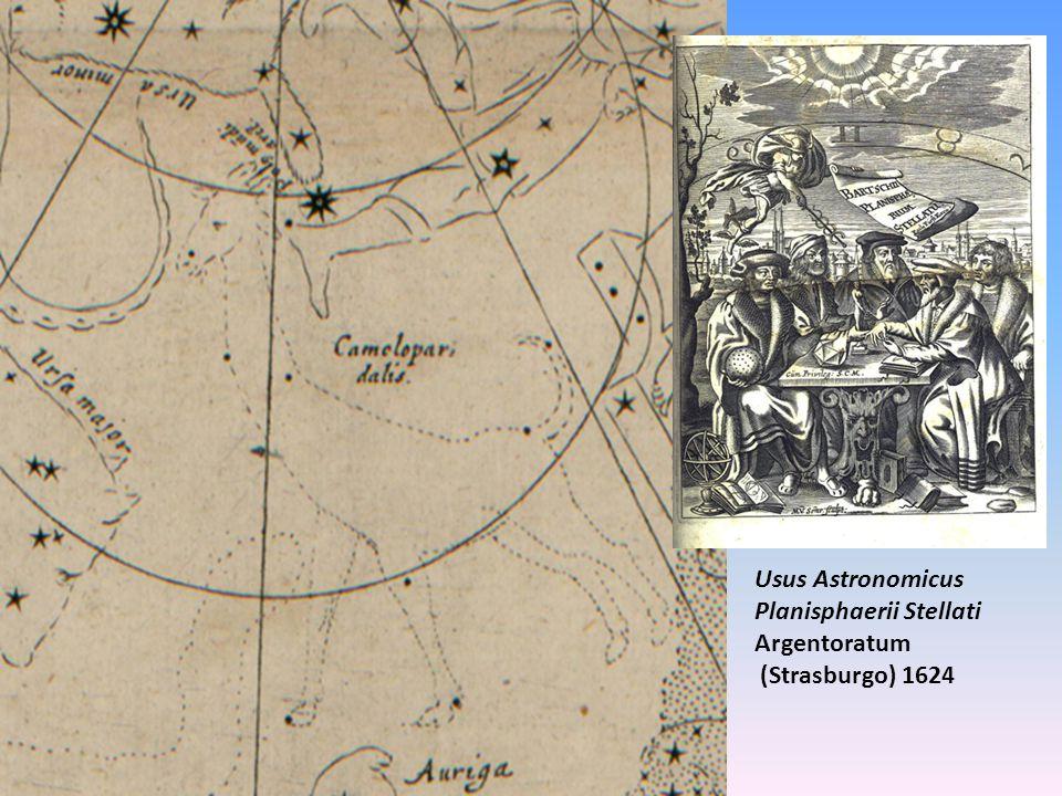 Usus Astronomicus Planisphaerii Stellati Argentoratum (Strasburgo) 1624