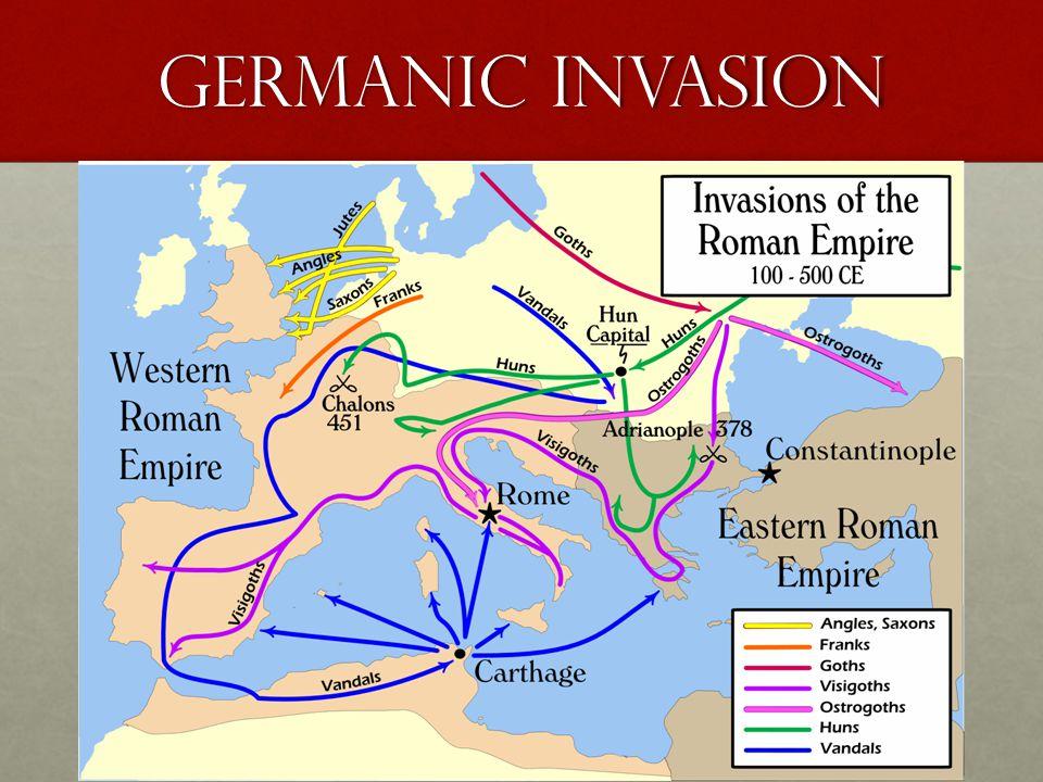 Germanic invasion