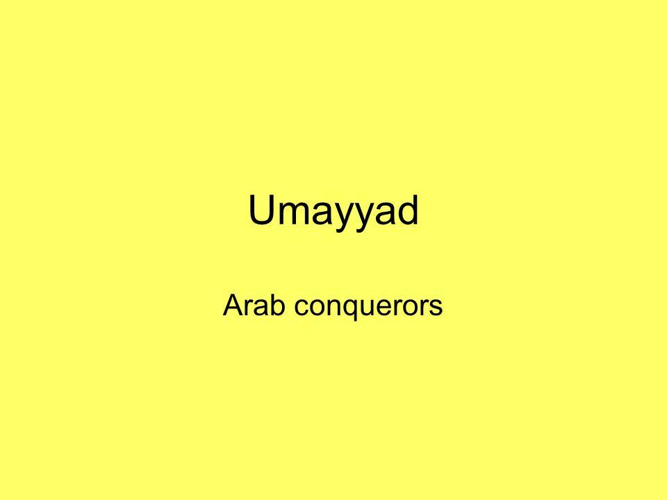 Umayyad Arab conquerors