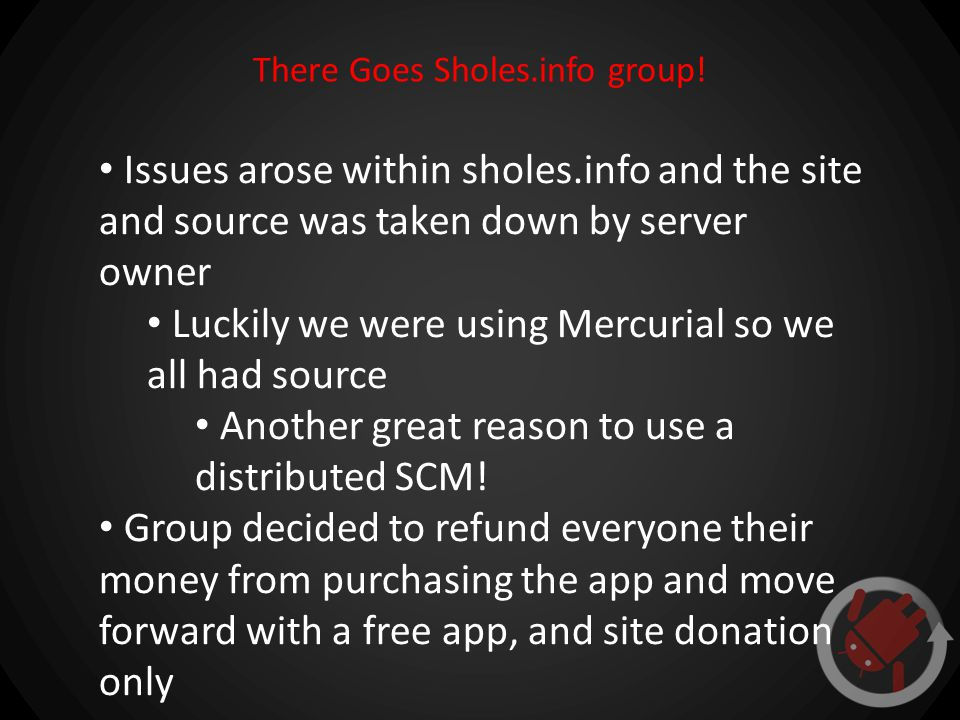 There Goes Sholes.info group.