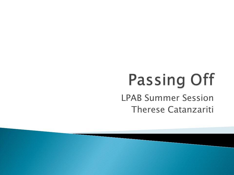 LPAB Summer Session Therese Catanzariti
