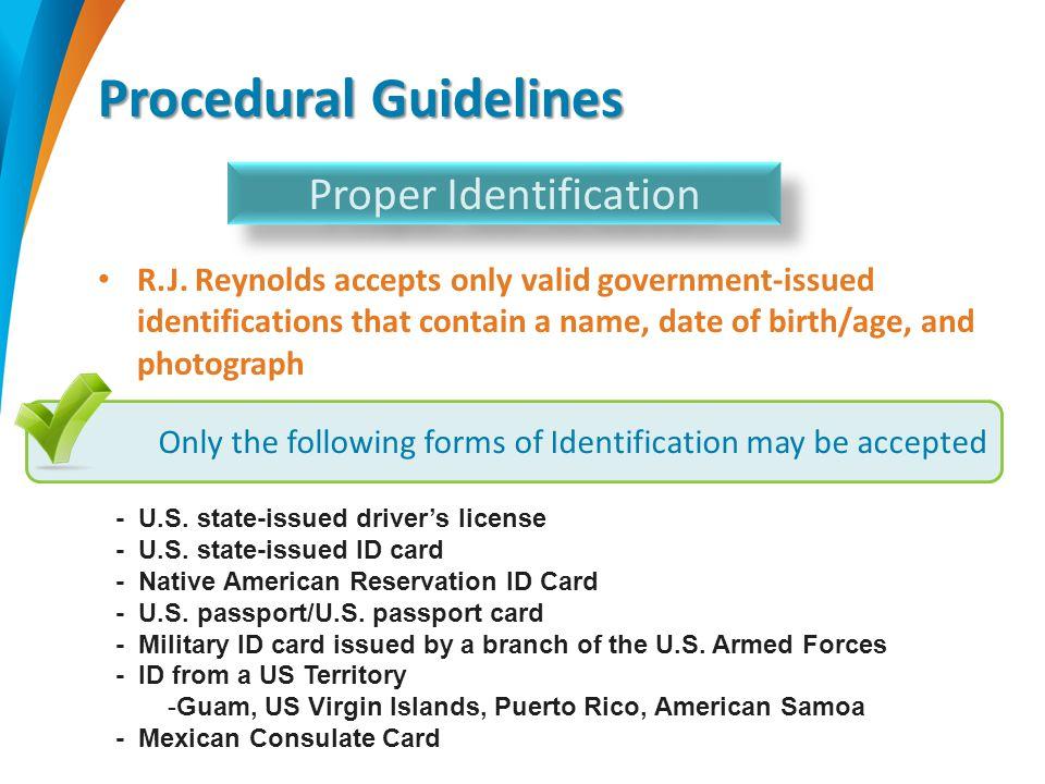 Procedural Guidelines R.J.