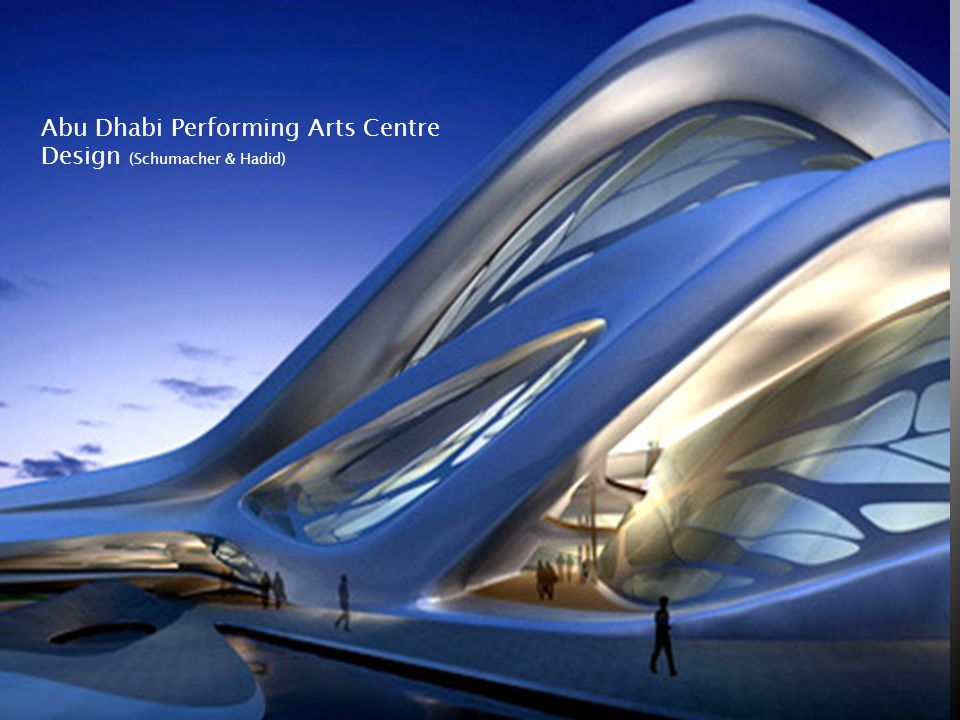 Abu Dhabi Performing Arts Centre Design (Schumacher & Hadid)