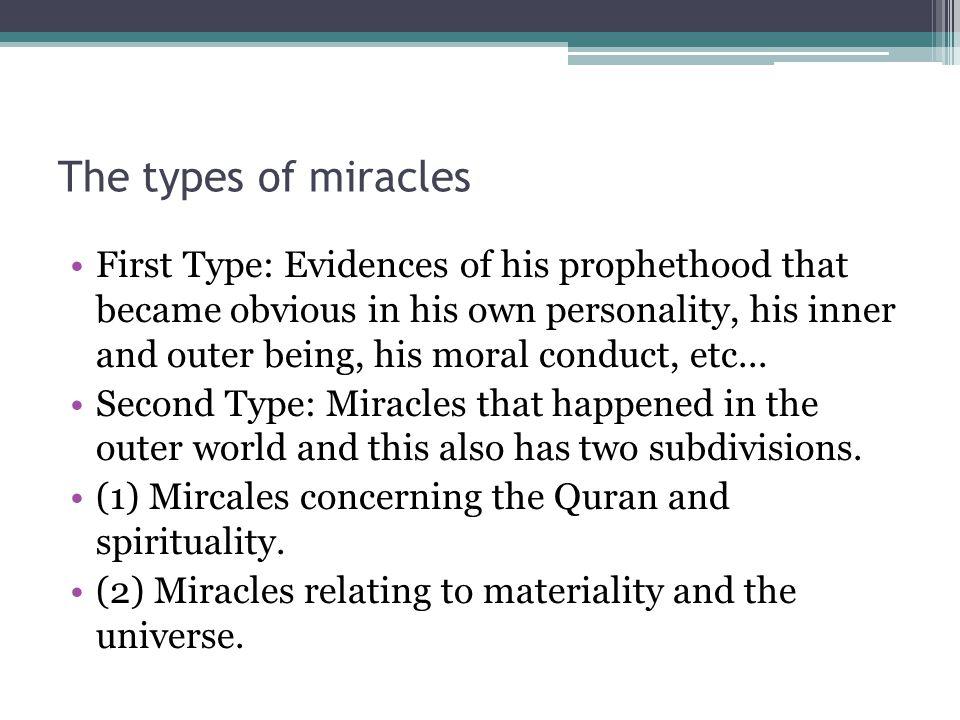 Next few weeks...Splitting of the moon. The Quran.