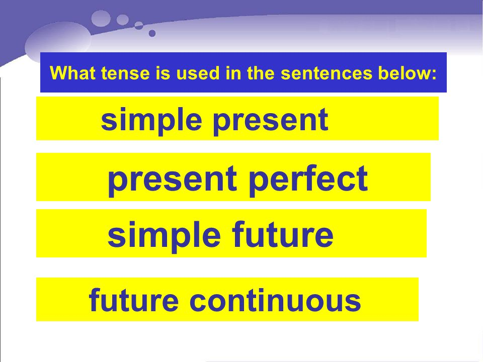 What tense is used in the sentences below: Many teenagers like reading adventure stories.