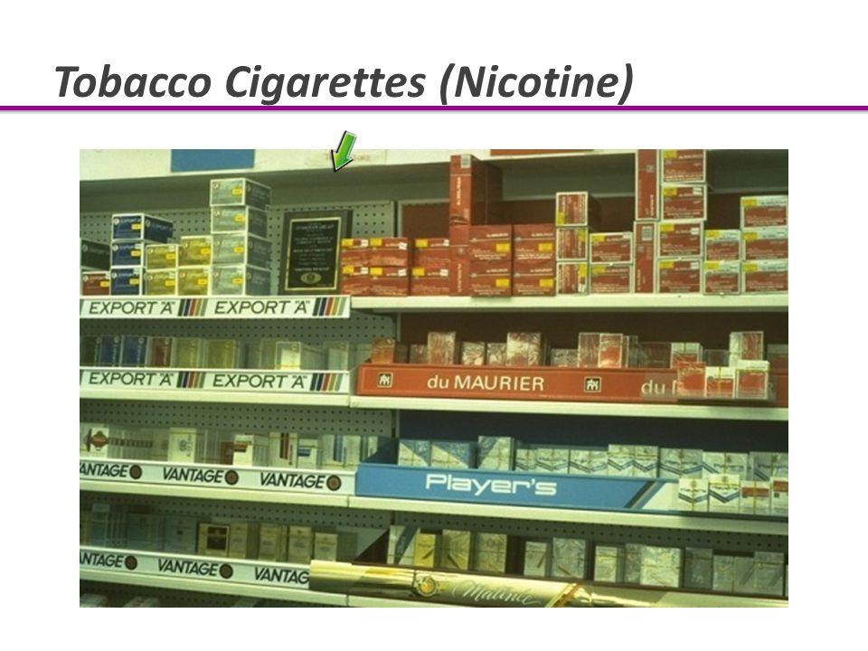 Tobacco Cigarettes (Nicotine)