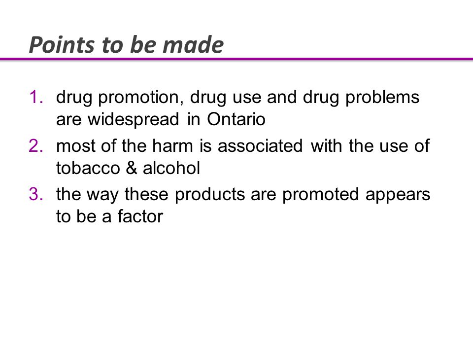 Widespread Consensus Canadian Public Health Association Canada's Alcohol Strategy (Canadian Centre on Substance Abuse) US Surgeon General American Academy of Pediatrics US Institute of Medicine Center on Alcohol Marketing and Youth World Health Organization All recommend limiting exposure to alcohol advertising