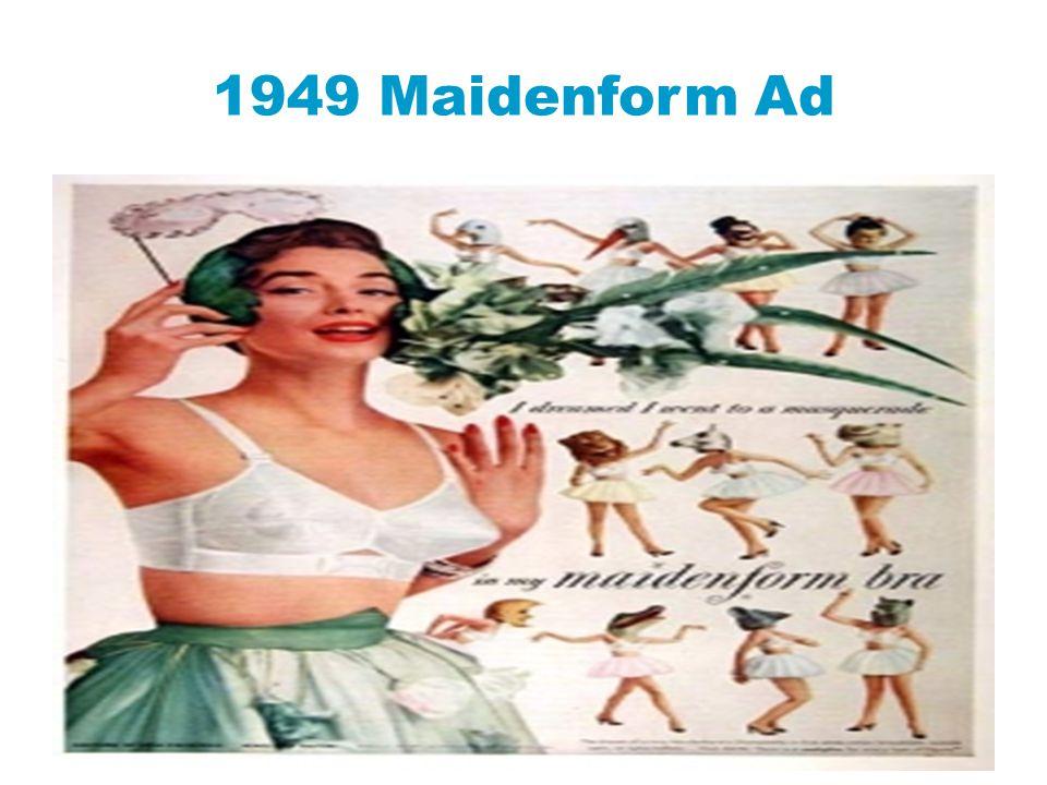 1949 Maidenform Ad