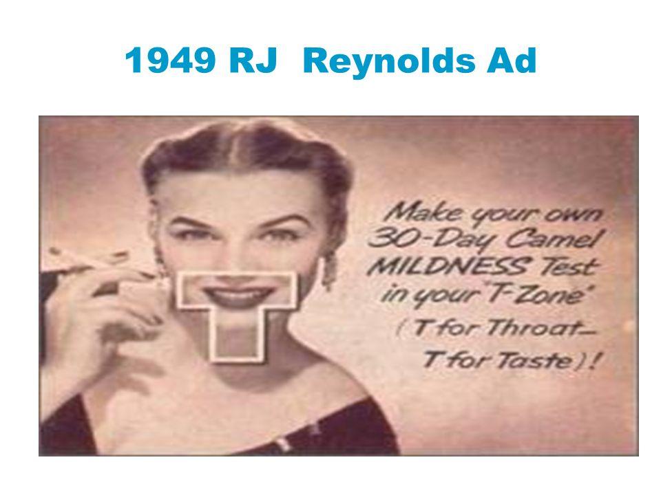 1949 RJ Reynolds Ad