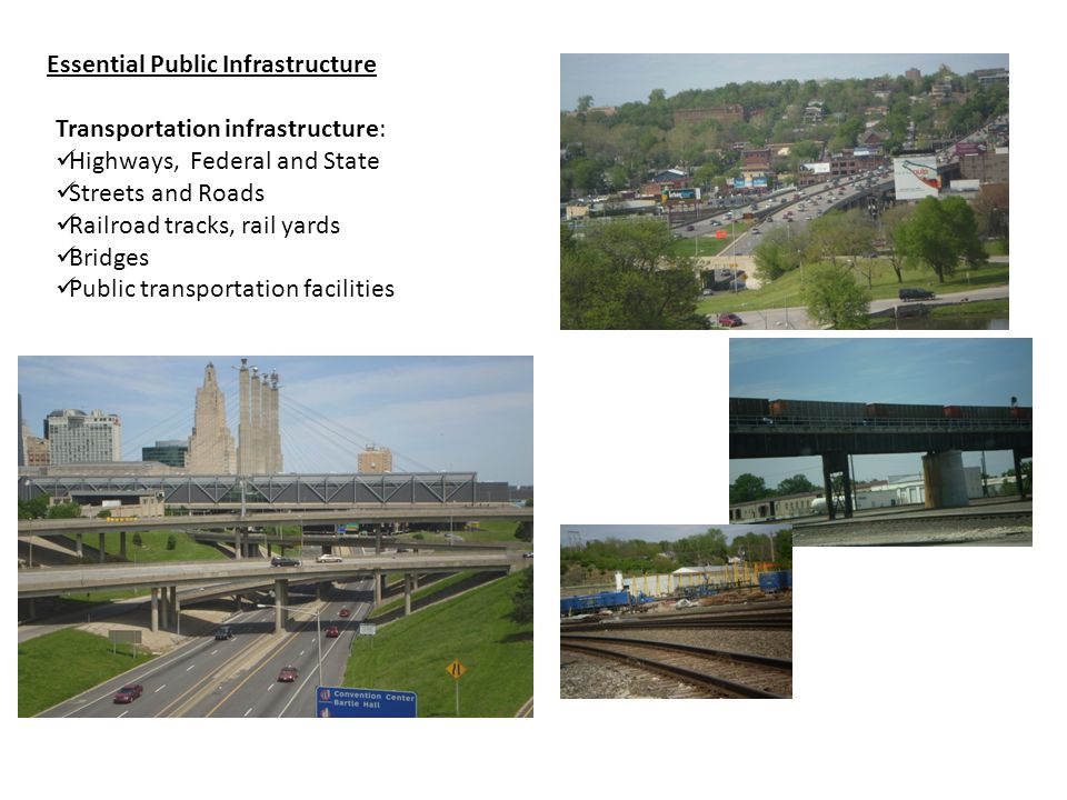 Public Infrastructure: What Is Essential Public Infrastructure.