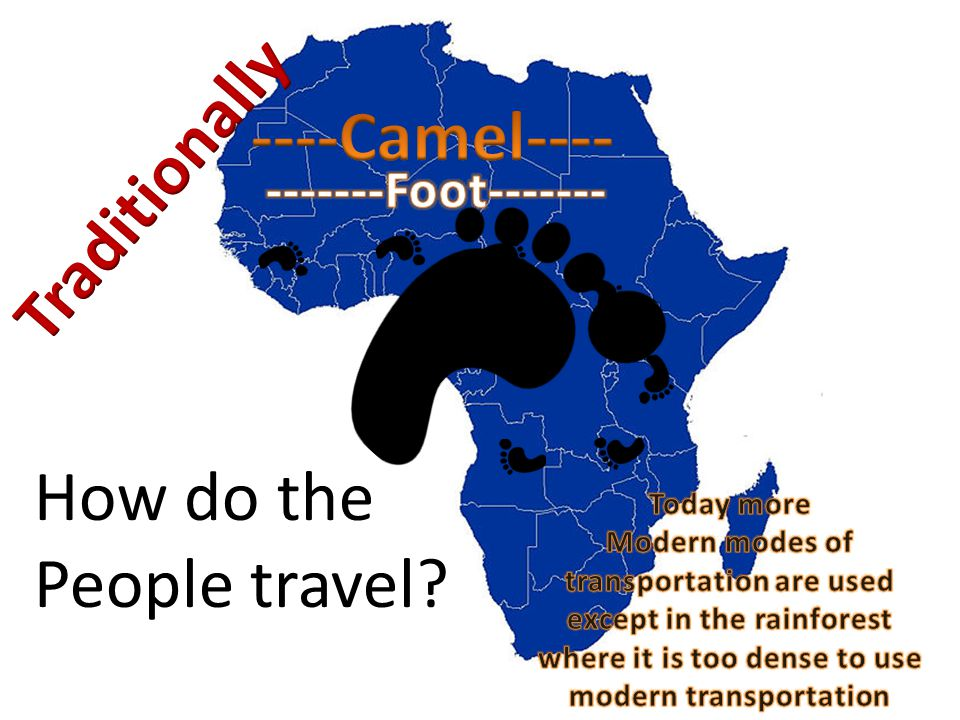 How do the People travel?