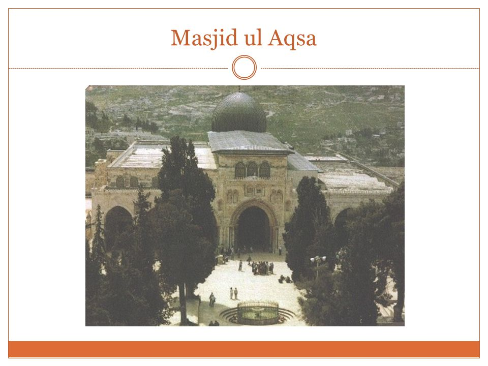 Salah ud Din al Ayyubi This mimbar remained on the dome of the rock and the khateebs gave khutbahs until 1969.