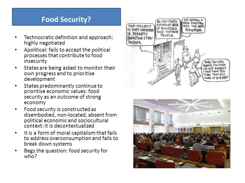 Food Security.