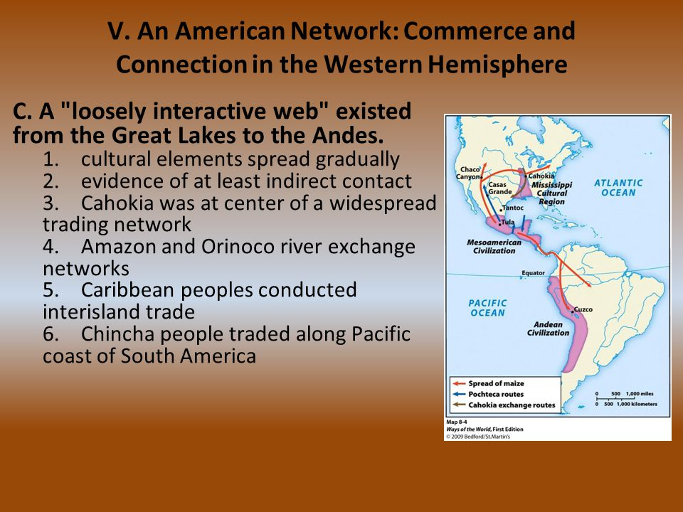 V. An American Network: Commerce and Connection in the Western Hemisphere C. A