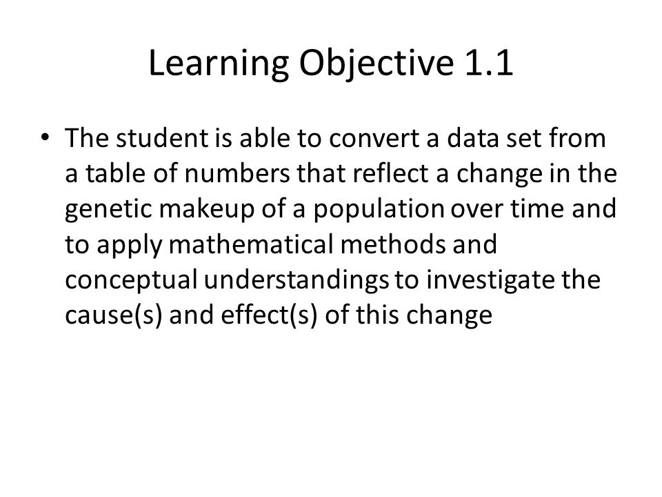 Learning Objective 1.12 Question 1 Discuss two mechanisms of speciation that lead to the development of two or more separate species from a common ancestor.