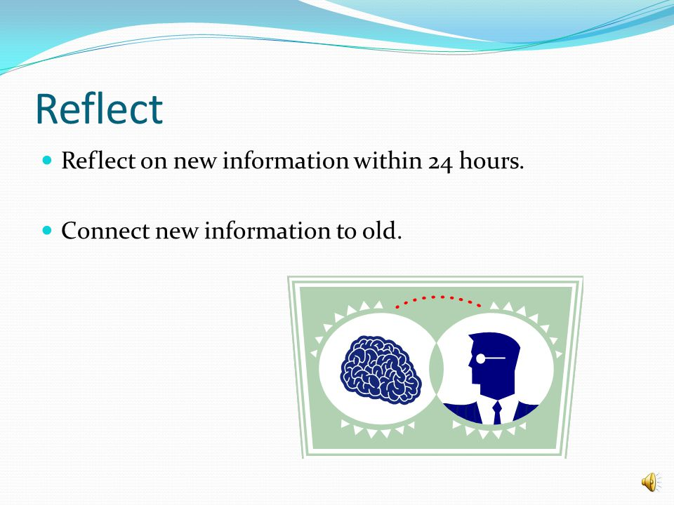 Short Term Memory Once you pay attention to something, think about it. STM decides which information to throw away and which to send to long term memo