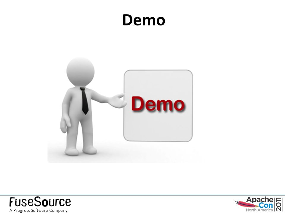 Demo A Progress Software Company
