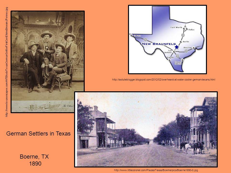 http://www.texasescapes.com/WTBlock/TexasGermanSettlerFirstGenElkinsBrossmJPenney.jpg http://astuteblogger.blogspot.com/2012/02/overheard-at-water-coo