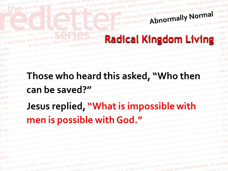 Radical Kingdom Living C S Lewis: Epigrams and Epitaphs All things (e.g.