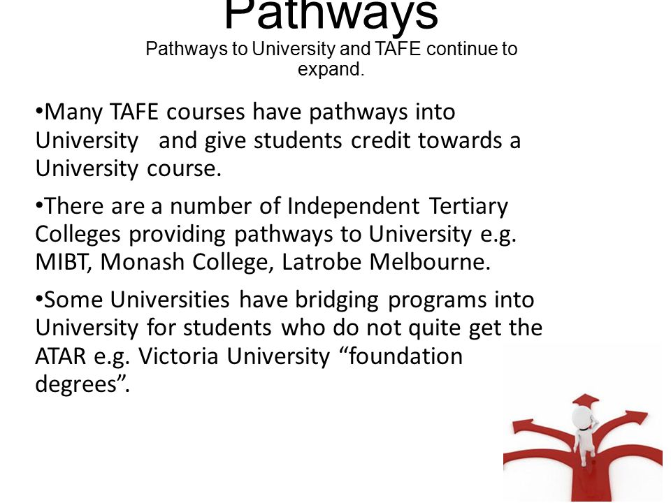 Marymede Catholic College Pathway Planning Student's are beginning to develop individual pathways to a career.
