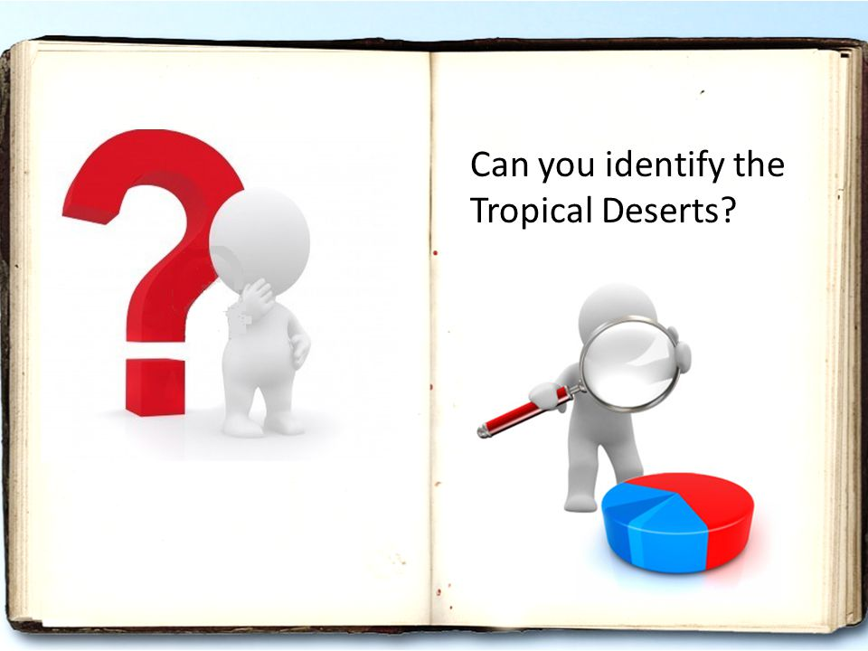 Can you identify the Tropical Deserts