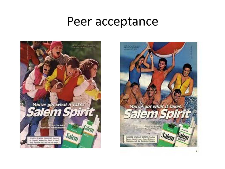 Peer acceptance