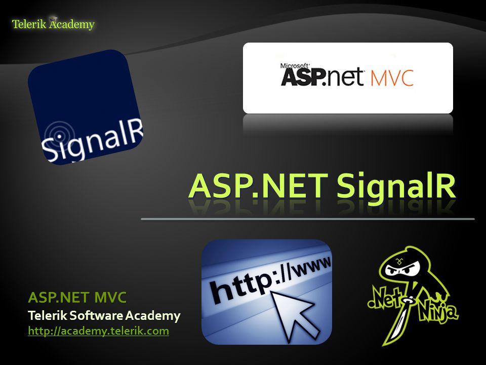 Telerik Software Academy http://academy.telerik.com ASP.NET MVC