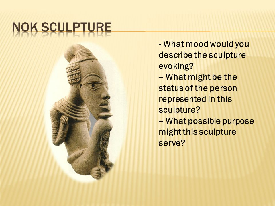 - What mood would you describe the sculpture evoking.