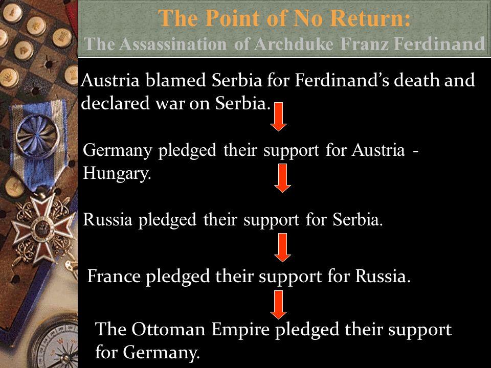 Gavrilo Princip after his assassination of Austrian Archduke Franz Ferdinand.