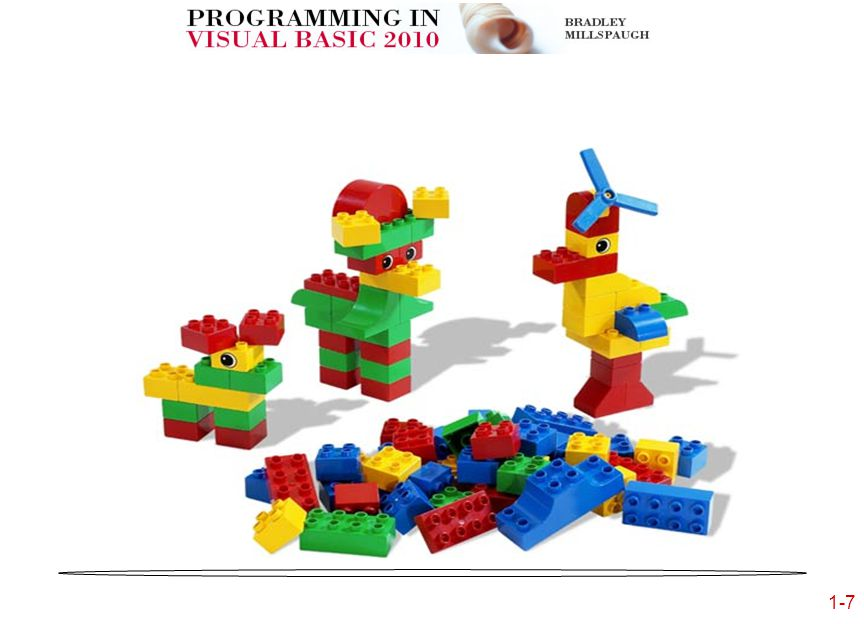 1-7 Lego Building Blocks
