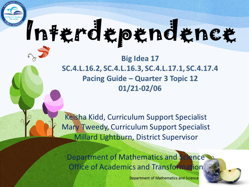 Grade 4 Fair Game Big Idea 17 Interdependence Benchmarks SC.4.L.16.2 Explain that although characteristics of plants and animals are inherited, some characteristics can be affected by the environment.