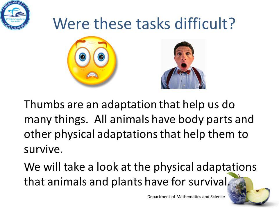 Why Adapt.