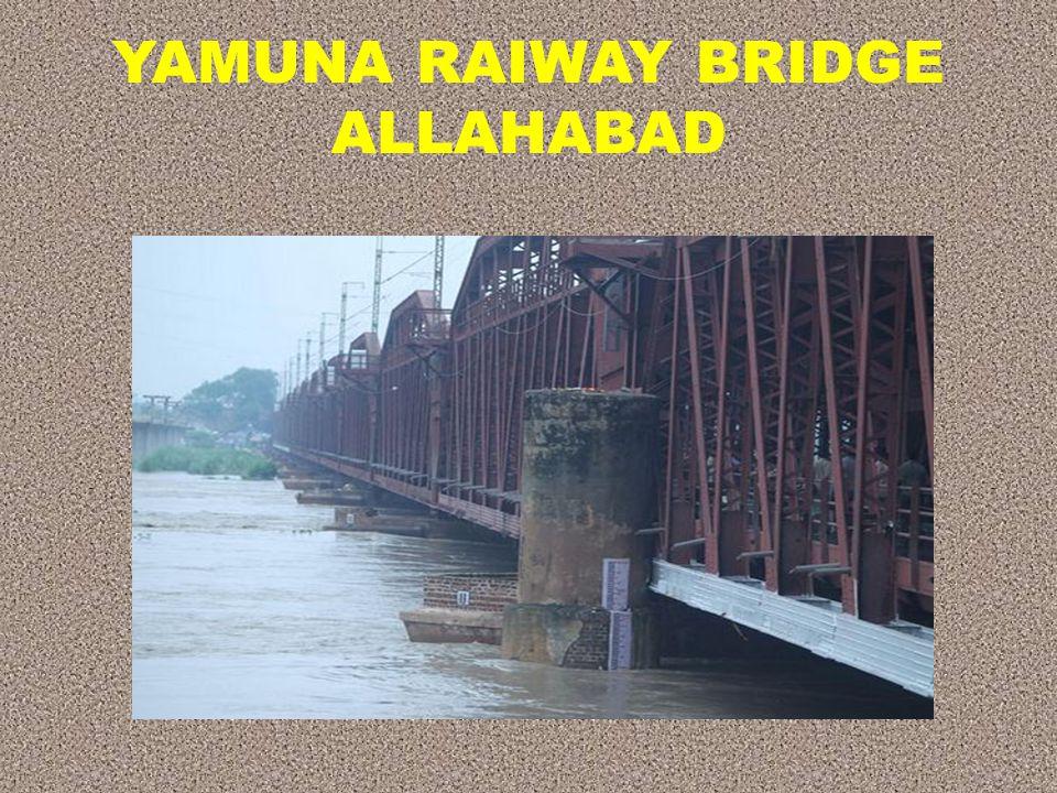 YAMUNA RAIWAY BRIDGE ALLAHABAD
