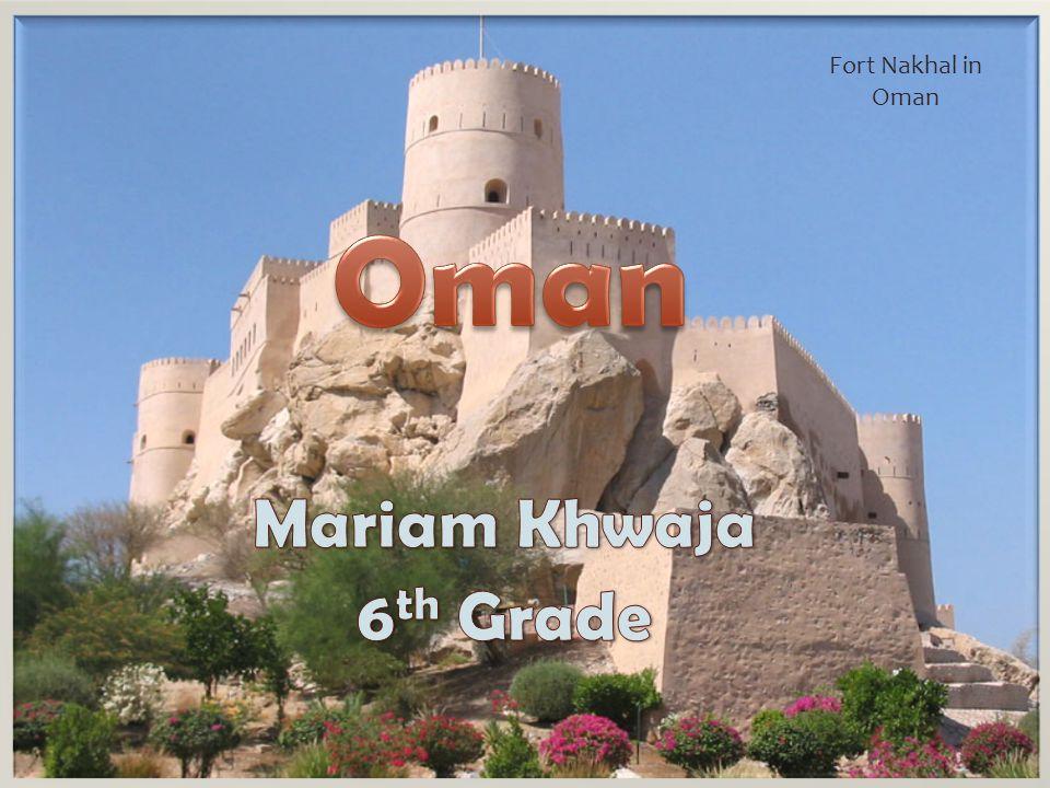 Fort Nakhal in Oman